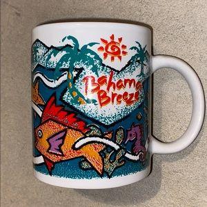 3/$25 Vintage Bahama Breeze Coffee Tea Cup Mug